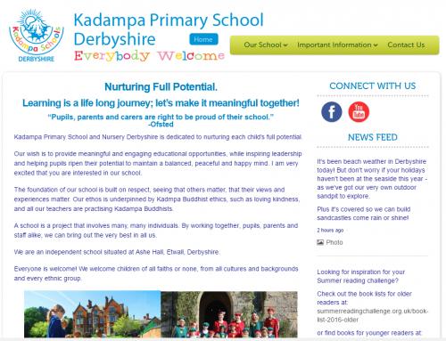 Kadampa Primary School Derbyshire