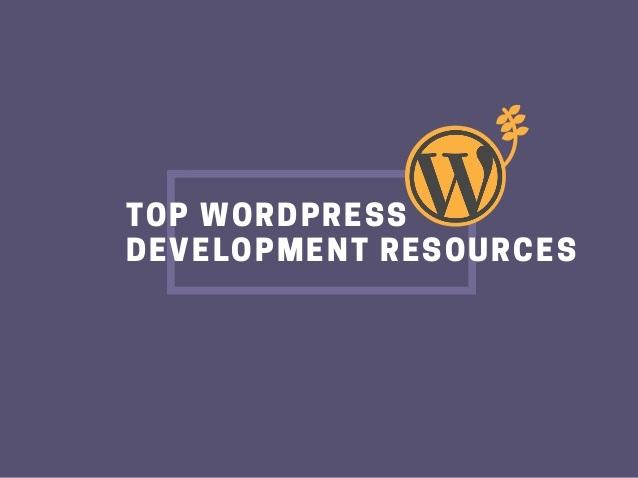 WordPress help resources for WordPress developers